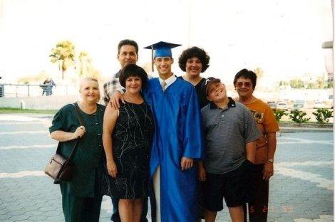 My maternal grandmother (Abuelamom) far right.