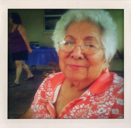My paternal grandmother Ofelia (Abuelita).