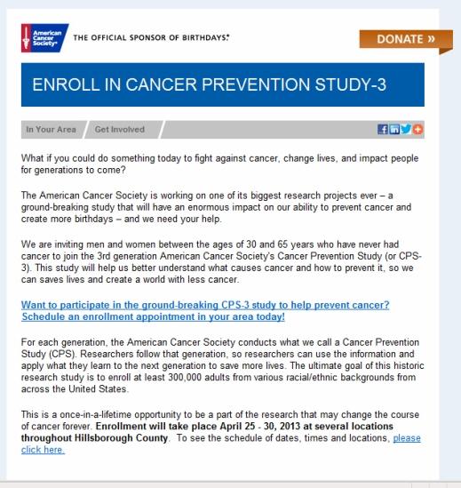 cancer invite